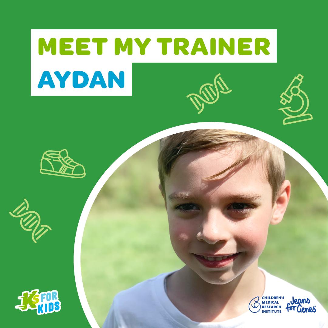 Meet my trainer Aydan